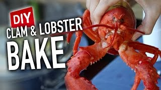 DIY Lobster & Clam Bake - Feat. Dad