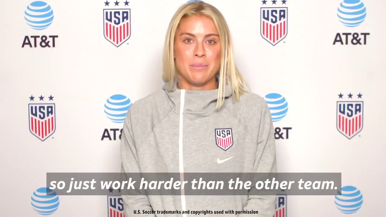 Advice from Alex Morgan, Rose Lavelle and Abby Dahlkemper have for young  soccer players
