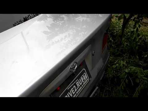 открытие багажника на toyota carina