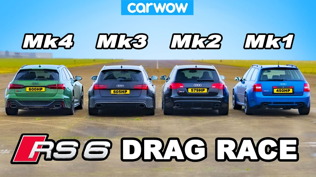 Audi RS6 vs Nissan GTR and a short movie