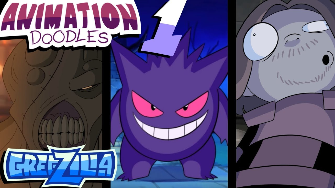 Animation Doodles!  Gregzilla