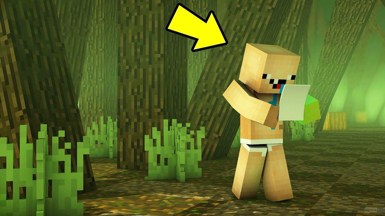 GİZLİ HARİTA BULDUK !! 😱 - Minecraft