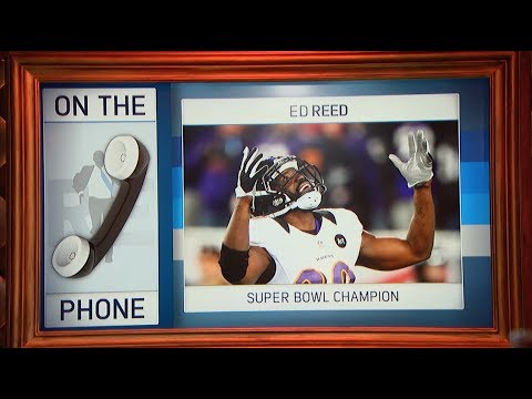 Super Bowl Champion Ed Reed on Players Safety, Community Outreach & More - 5/24/17