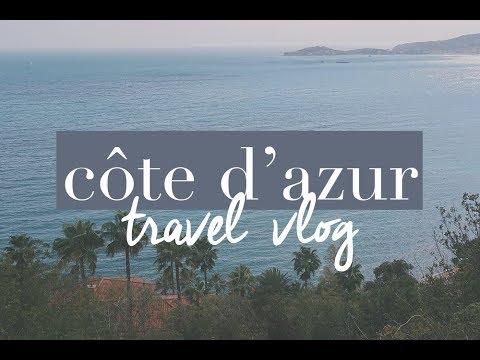 SOLO TRAVEL VLOG | FRENCH RIVIERA + MONACO