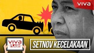 connectYoutube - BREAKING NEWS! Rekaman Mobil Setya Novanto Saat Tabrak Tiang Listrik