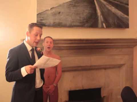 Ben Chapman's groom speech