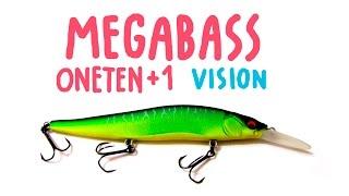 Megabass oneten +1 SP | Fishing Lures Review | Обзор воблера