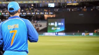Ms Dhoni -Top 5 Entries in ground - MSD Entry