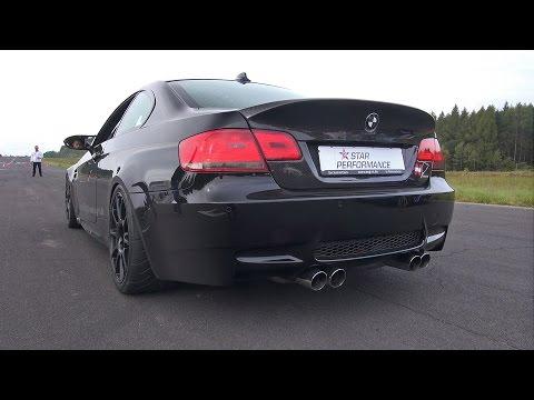 BMW M3 E92 w/ LOUD Eisenmann Exhaust System!