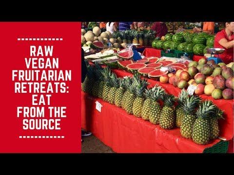Raw Vegan Fruitarian Retreats: Eating from the Source