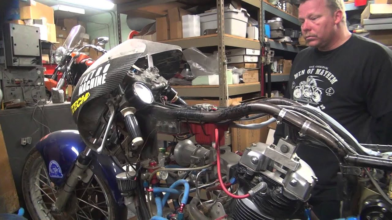 1979  2 Harley Sportster Xl 500cc Topfuel Single Cylinder