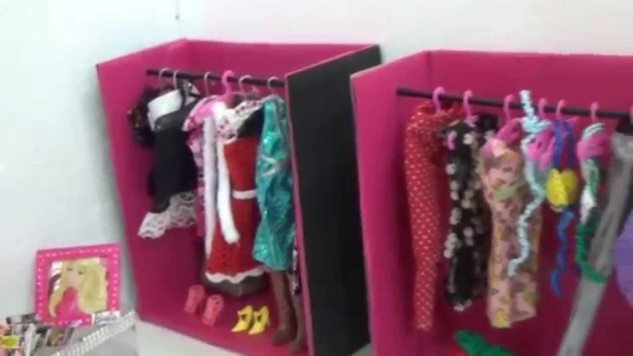 Como Fazer Cabide Para As Roupas Da Barbie Youtube