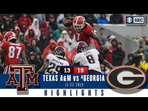 Texas A&M Vs #4 Georgia Highlights: Dawgs Defense Stands Tall To Take Down Aggies | CBS Sports