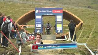 Gee Atherton, Aaron Gwin at Fort William 2011