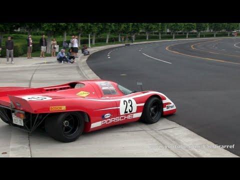 Street Legal Porsche LMK 917 Race Car, and Aston Martin Vanquish