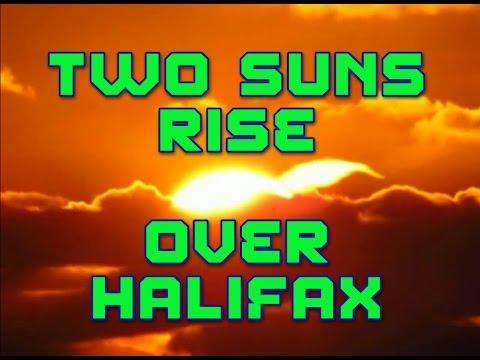 Two Suns Rise Over Halifax Nova Scotia December 08 2013