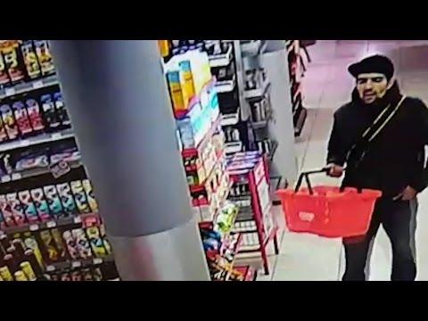 Betrapte winkeldief trekt mes in supermarkt Schiedam