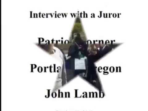 Celebration at Patriot Corner - Interview with Juror #15 - John Lamb