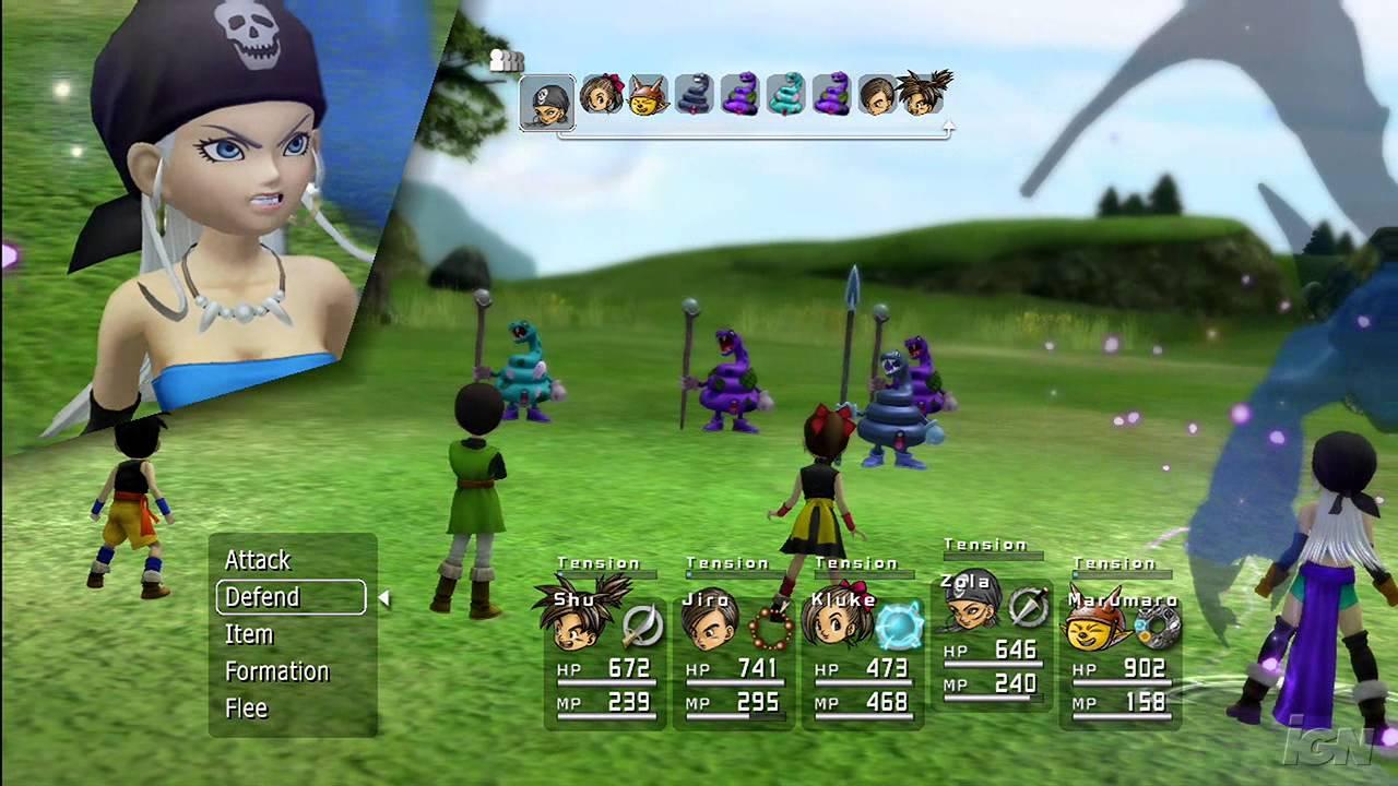 Blue Dragon Gameplay