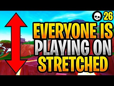 Why Everybody Is Switching To Stretched Resolution... (Fortnite Stretched RES - Season 8)