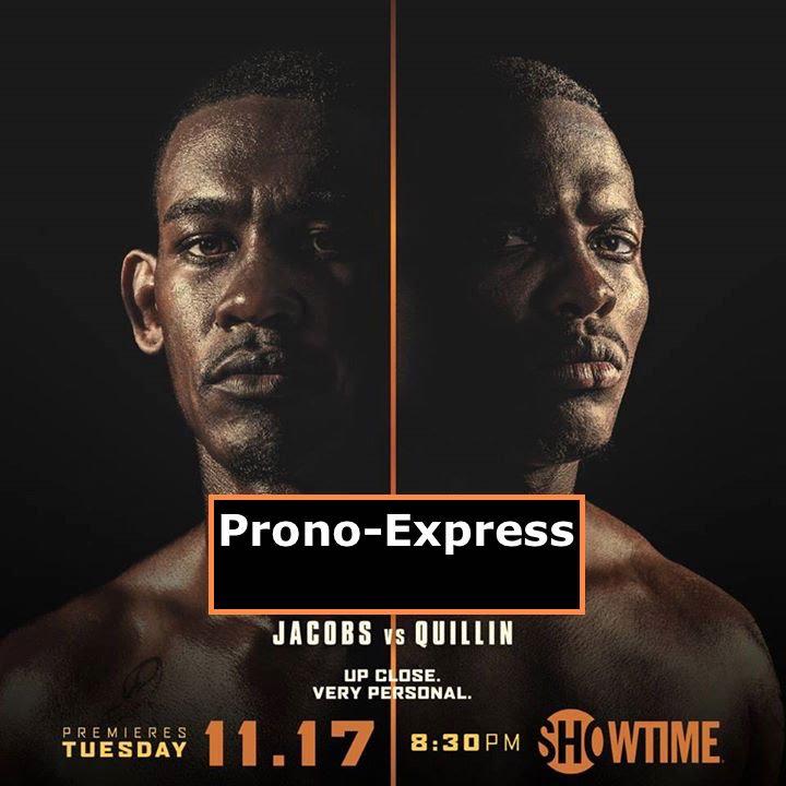 PRONO EXPRESS: Quillin vs Jacobs