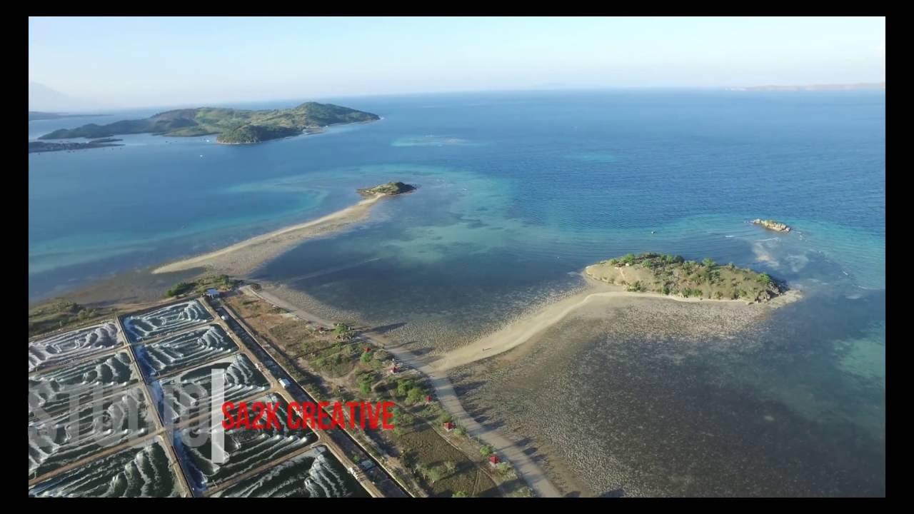 Pantai lariti Keunikan Laut Terbelah di Nusa Tenggara Barat - Nusa