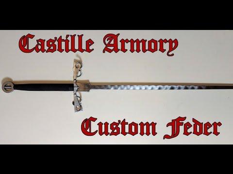 Medieval Review - Castille Armory Custom Feder