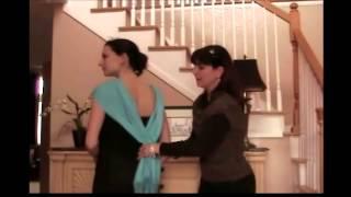3 Ways to Wear a Shawl with Formal Attire
