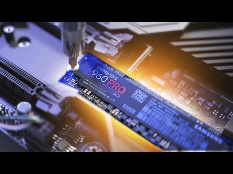 Our First NVMe M.2 SSD Install! Feat. Samsung 960 Pro