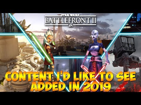 Content I'd Like To See Added in 2019: STAR WARS BATTLEFRONT 2 thumbnail