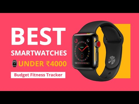 Top 5 Best Smartwatches⌚Under ₹4000 in India | Cheap Fitness Bands 2020 [Hindi] 🔥🔥