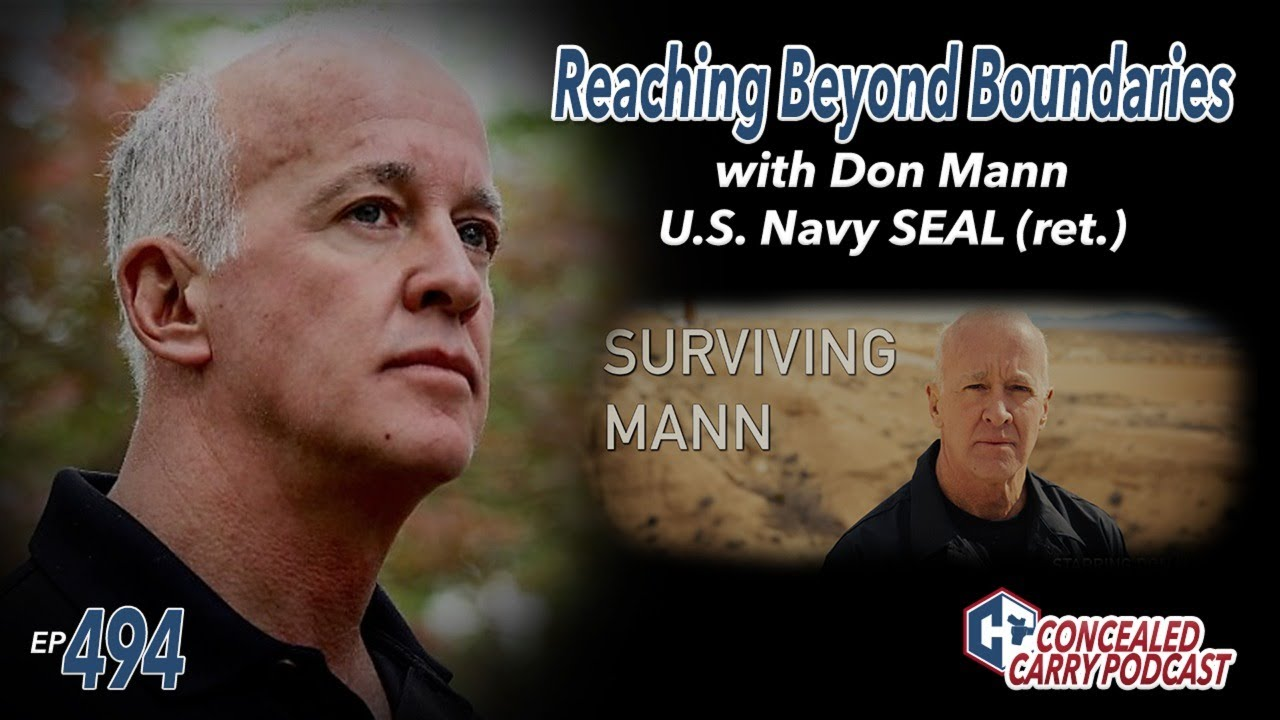 Ep494: Reaching Beyond Boundaries: Surviving Mann Preview with Don Mann
