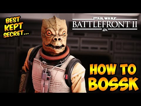 Star Wars Battlefront 2: How to Not Suck - Bossk Hero Guide and Review