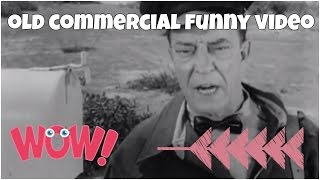 BW old commercial with Buster Keaton ★ FUNNY 😂