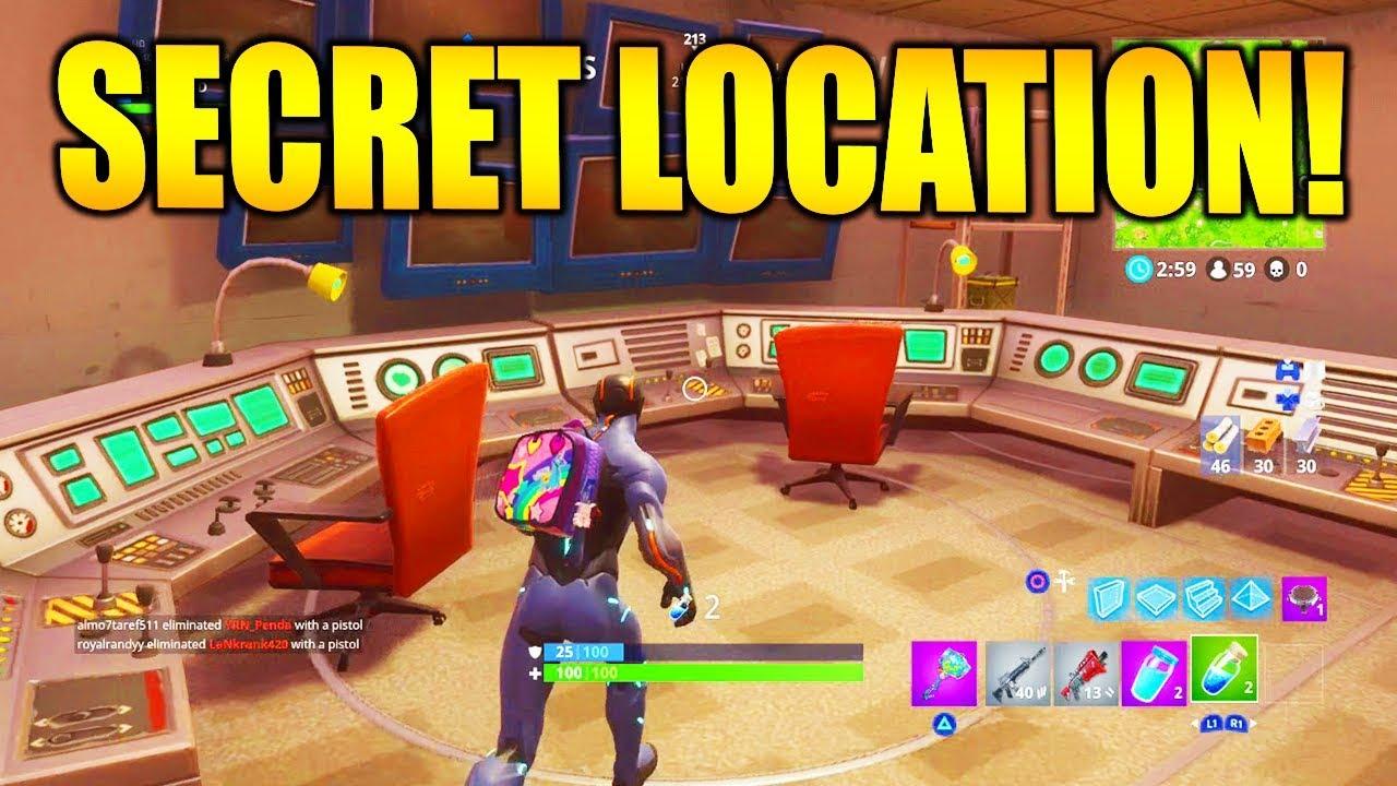 hidden bunkers found in fortnite season 4 - all secret bunkers in fortnite
