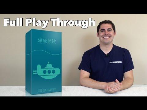 Deep Sea Adventure Full 4p Play Through
