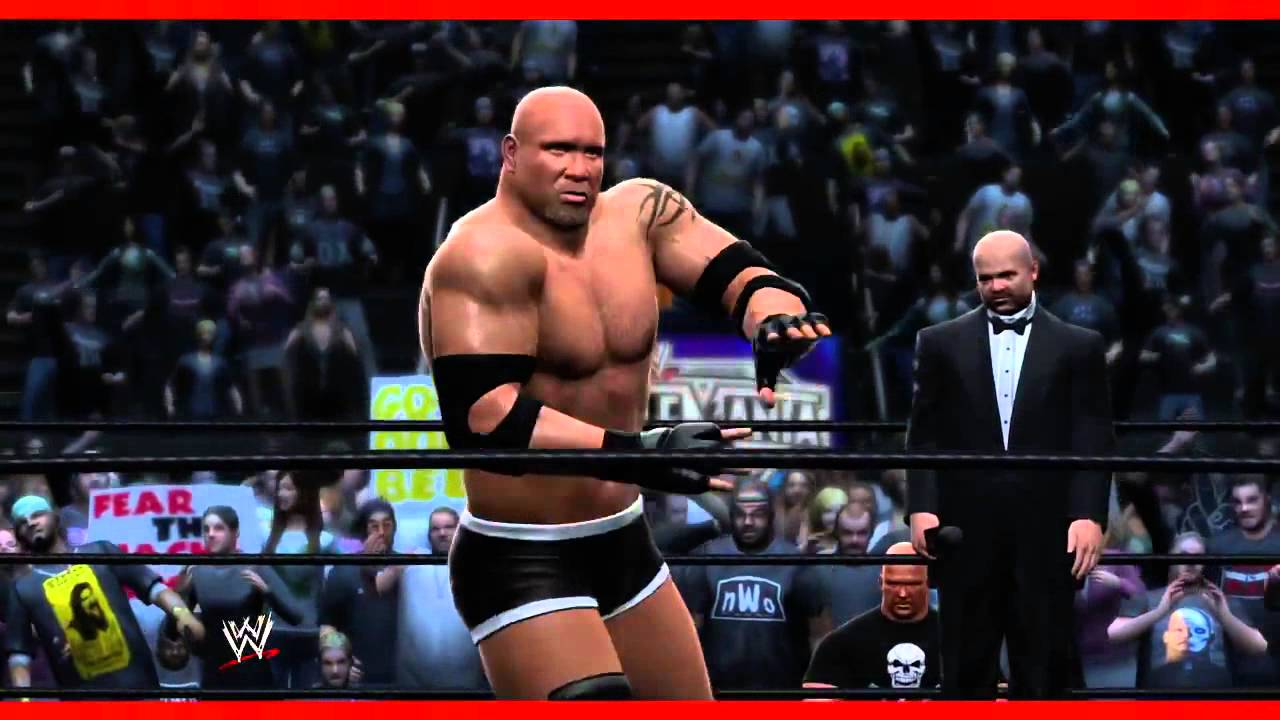 wwe 2k14 goldberg entrance and finisher official youtube