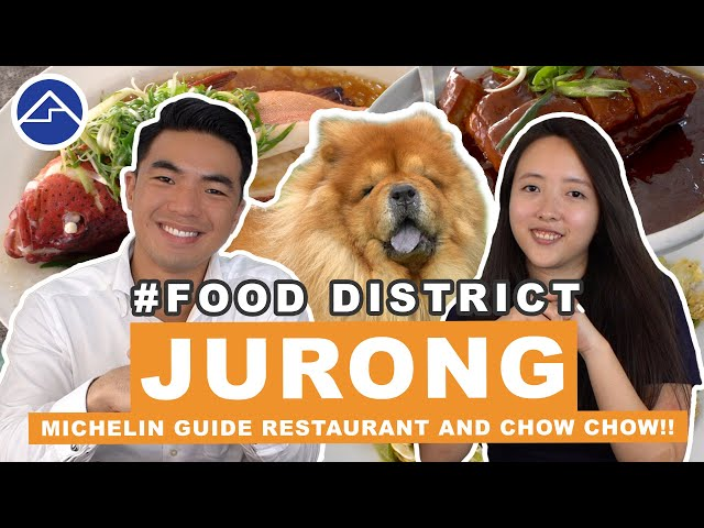 Jurong Secret Michelin Guide Restaurant and Sights!! | Food District Ep 4