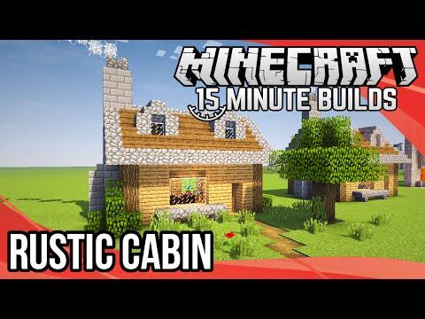 Minecraft 15-Minute Builds: Rustic Cabin
