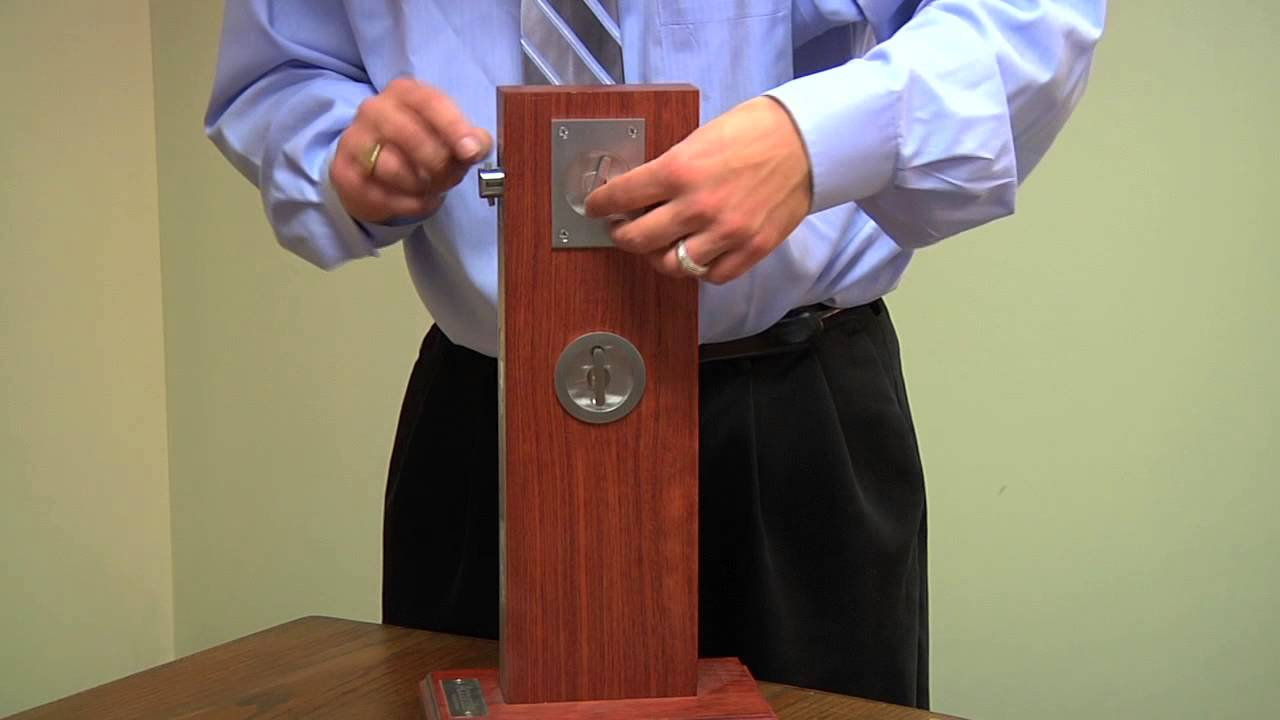 161 Pocket Door Lock Series