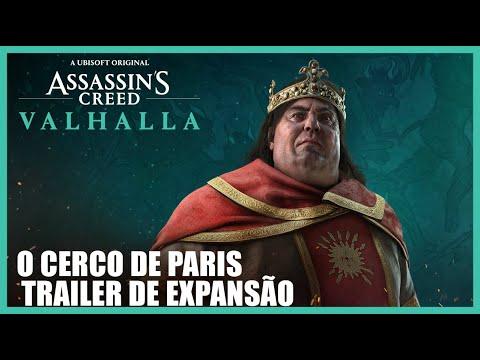 Assassin's Creed Valhalla: Trailer de Expansão O Cerco de Paris | Ubisoft Brasil