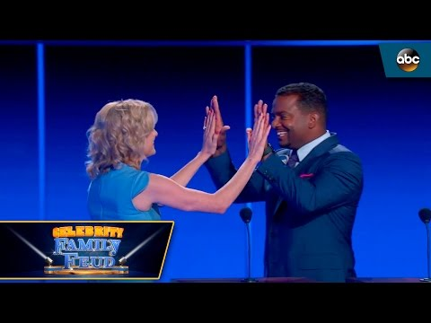Fast Money by Team Alfonso Ribeiro  Celebrity Family Feud