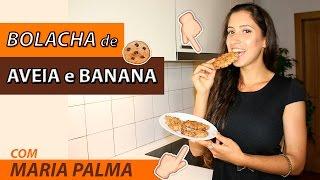 Receita: BOLACHAS de AVEIA FIT | Maria Palma