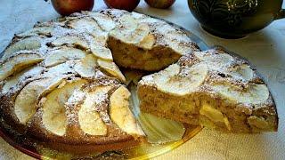 ПИРОГ Итальянский деревенский яблочный /Italian Country Apple Pie #вкусняшки #выпечка #pie #десерт