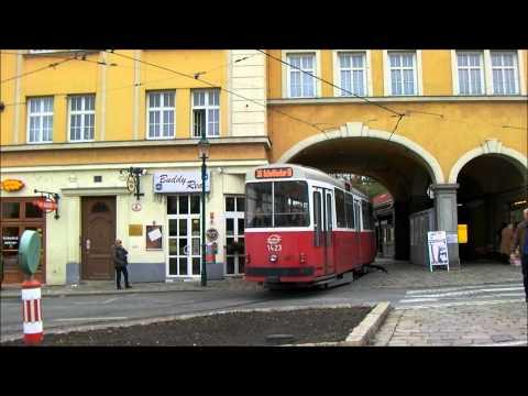 Wien/Vienna tram terminus Grinzing - Wiener Linien