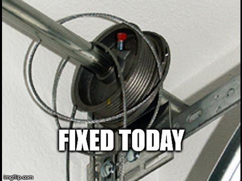 Western Springsil Fix Broken Garage Door Cables 630 271 9343
