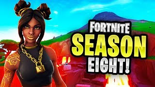 "NEW ""Season 8"" Battle Pass & LEAKED Skins Thumbnail Template! - (Fortnite Season 8 GFX)"