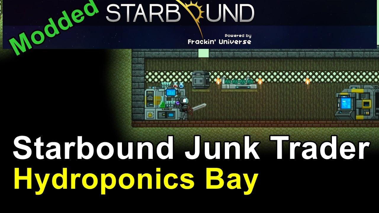 Power Station & Hydroponics Bay - Starbound: Frackin' Universe (Ep 4) by  Darthmufin