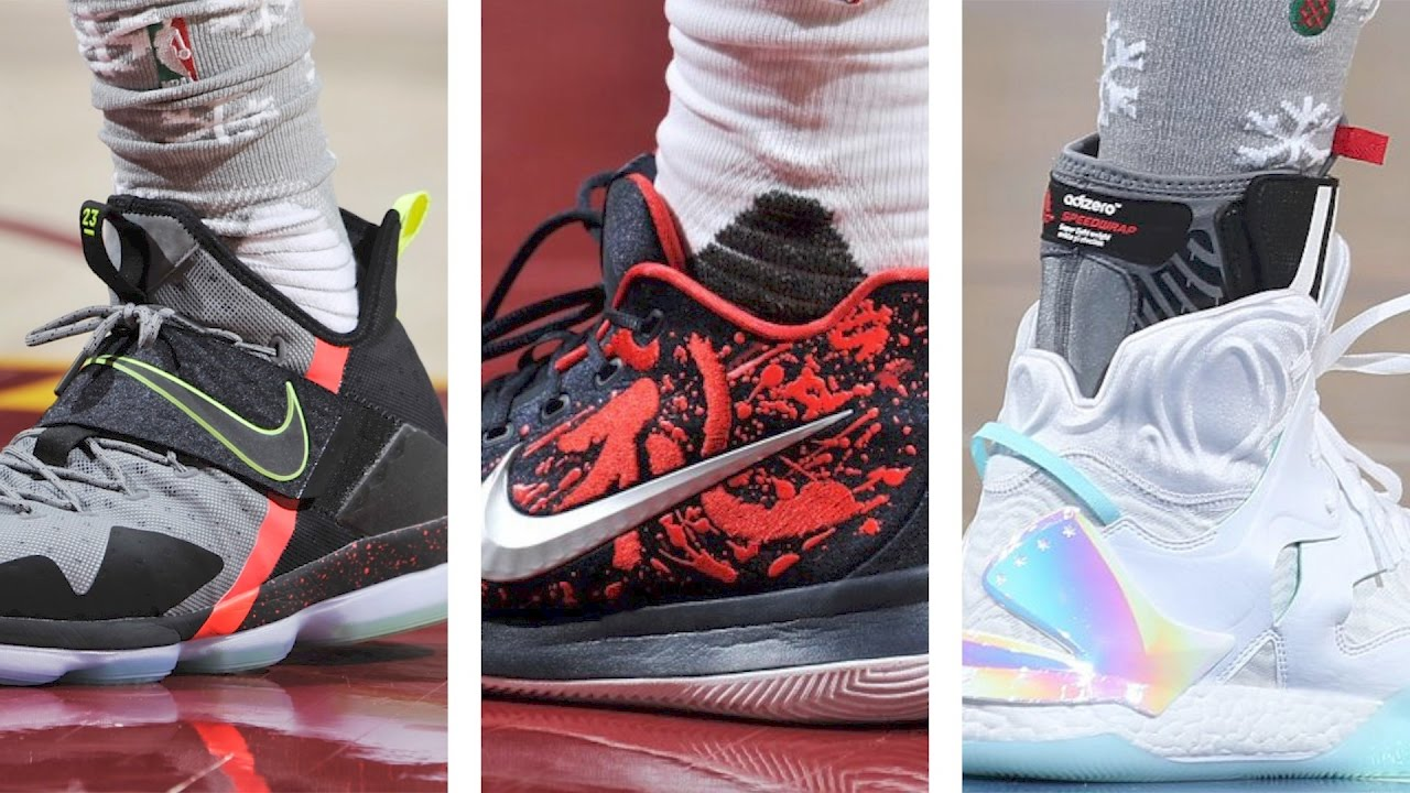 wholesale dealer 308fc a5e1b Nike LEBRON 14, Kyrie 3 HYPE, Christmas Kicks and more on Today in Sneakers