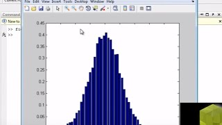 MATLAB tutorial: create probability density function